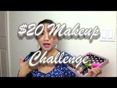 $20 MAKEUP CHALLENGE & DRUGSTORE MAKEUP REVIEW!