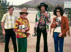 Jimi Hendrix Experience, AZ 1968