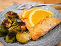 What's for Dinner?: Roasted Salmon and Brussels Sprouts