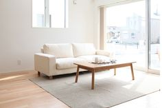 The MUJI living room.