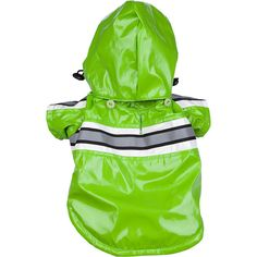 Reflecta-Glow Reflective Waterproof Adjustable Pvc Pet Raincoat ^^ Amazing product just a click away  : Christmas Presents for Cats