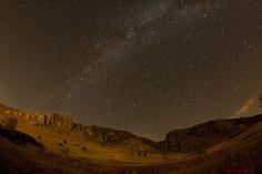 La Vía Láctea desde Rumanía.-