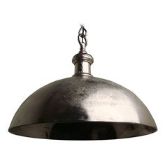Vintage Style Metal Bowl Pendant Light | 3034357 | Destination Lighting