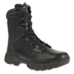 "Men's Bates 8"" Code 6 SZ Black"
