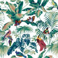 Jungle Canopy Multi - papier peint moderne - Photowall