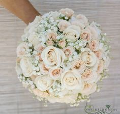 Are you having your wedding in a tropical area? You need to choose the best tropical wedding flowers for your special day. Rose Bridal Bouquet, Bride Bouquets, Bridal Flowers, Bridesmaid Bouquet, Flower Bouquets, White Wedding Flowers, Floral Wedding, Rustic Wedding, Wedding Dress