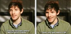 Ihavent started Merlin yet but I can already tell I'll love it.