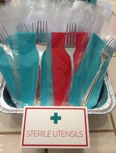 Sterile Utensils at my Nursing Graduation Party! by suzette