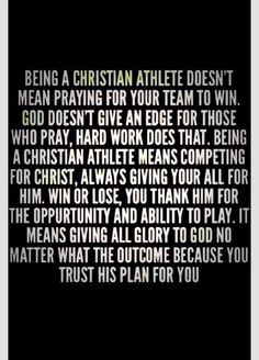 Being a christian athlete means. being a christian athlete means softball quotes, sport quotes, play volleyball, girls basketball Volleyball Quotes, Soccer Quotes, Sport Quotes, Play Volleyball, Volleyball Skills, Teamwork Quotes, Girls Softball, Roshe, Thoughts