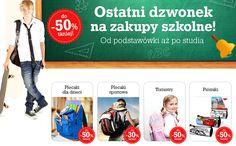 Nawet 50% zniżki na zakupy szkolne w Agito! Do 06.09.2015