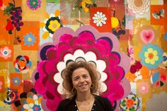 Brazil's top modern artist, geometric abstractionist Beatriz Milhazes, gets Rio homecoming