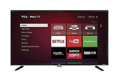 TCL 32 Inch SMART TV LED Slim Wall Mounted WITH BUILT-IN ROKU TV