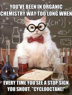Haha oh organic chem jokes