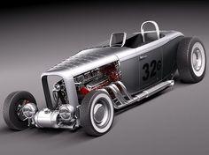 Ford 1932 HotRod Salt Lake Racer