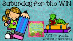 Fabulous 4th Grade Froggies: Saturday for the WIN ! (part one)