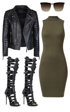 Amber Rose by fashionbombshellz on Polyvore featuring polyvore, fashion, style, Giuseppe Zanotti, SeeLine and clothing