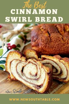 This CINNAMON SWIRL BREAD is deliciously tender and pillowy with a slightly crunchy upper crust and caramel-like cinnamon swirl inside. It makes a beautiful and thoughtful gift for the holidays! Thanksgiving Recipes, Holiday Recipes, A Food, Food And Drink, Delicious Recipes, Yummy Food, Cinnamon Swirl Bread, Southern Recipes, Food For Thought
