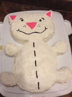 Binoo cake from Toopy and Binoo