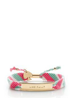 on purpose multi friendship bracelet