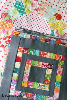 great for small pieces: sweet as one or many blocks.  I love the gray.