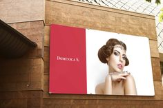 DOMENICA S. Identity, packaging, and advertising design for a jewelry store. Global Design, Advertising Design, Jewelry Stores, Identity, Packaging, Promotional Design, Wrapping, Personal Identity, Ad Design