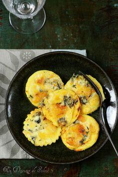 Gnocchi de semoule gratinés aux 4 fromages