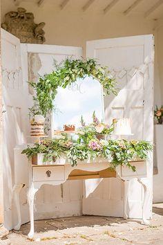 mirror wedding ideas hannah duffy photography