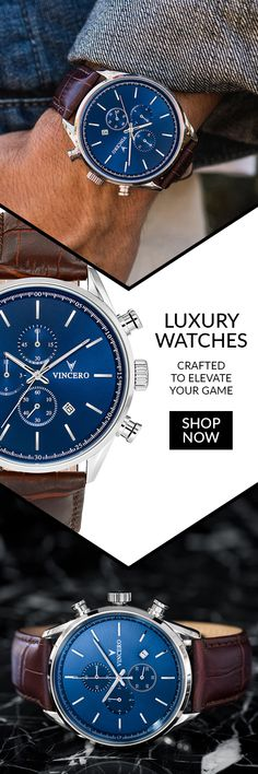 Most Popular Styles Are Back in Limited Stock! Don't Miss Out! Get OFF your order with code Most Popular Styles Are Back in Limited Stock! Don't Miss Out! Get OFF your order with code Modern Watches, Luxury Watches, Cool Watches, Watches For Men, Wrist Watches, Herren Outfit, Omega Seamaster, Leather Watch Bands, Fashion Watches