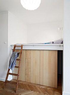 狭い空間を上手く使おう!ロフトベッドを使ったインテリアコーデ術☆ | folk