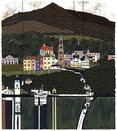 David DAY artist, paintings and art at the Red Rag British Art Gallery