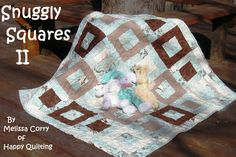 Moda Bake Shop: Snuggly Squares II Baby Quilt