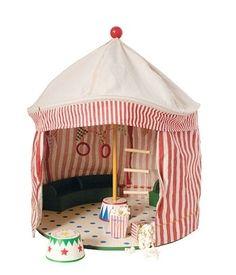 Circus big top tent - toy option with matching circus animals