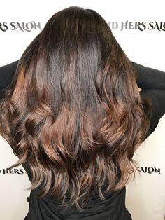 Balayage hair #balayageombre #caramelbalayage #longhair