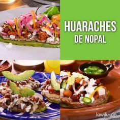 Sushi Recipes, Veggie Recipes, Mexican Food Recipes, Cooking Recipes, Healthy Recipes, Nopales Recipe, English Food, Perfect Food, Organic Recipes
