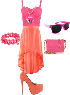 """""""Pink is..."""" by ruta-hi ❤ liked on Polyvore"""