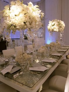 Mindy Weiss is a full-service wedding and event planner based in Los Angeles and New York City. Love Wedding Themes, Wedding Decorations, Wedding Inspiration, Wedding Ideas, Winter Wedding Flowers, Winter Weddings, Rose Centerpieces, Event Decor, Event Ideas
