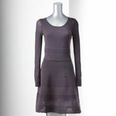 Simply Vera Vera Wang Fit & Flare Sweaterdress