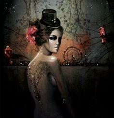 illustration by Deniz Ercelebi #carnival #tattoo