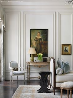 Thick trims | Atlanta Symphony Associates 2014 showcase home. French decor.