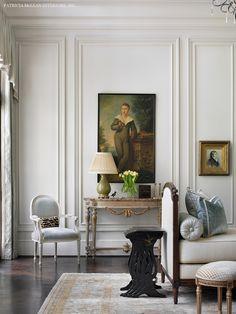 Atlanta Symphony Associates 2014 showcase home.  French decor.