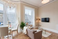 1 bed Flat for sale in Midlothian, - McEwan Fraser Legal Estate Agents and Solicitors Estate Agents, Flats For Sale, Edinburgh, Curtains, Bed, Living Rooms, Medieval, Treats, Furniture