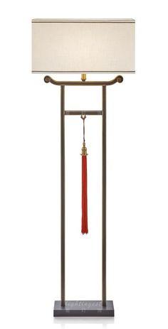 New Chinese style originality floor lamp【最灯饰】新中式创意落地灯