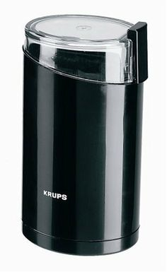 KRUPS Electric Spice and Coffee Grinder with Stainless Steel?Black From Krups Your in the coffee zone with this The One Touch Coffee Grinder is all you will need to grind up your fresh beans right in your own kitchen. Best Coffee Grinder, Spice Grinder, Coffee Maker, Coffee Grinders, Roasters Coffee, Kitchen Tools, Kitchen Gadgets, Kitchen Dining, Kitchen Products