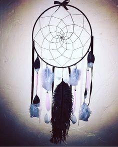 ✨✨✨ #dreamcatcher #attrapereve #grey #black #pink #creative #handmade #homedecor #blogger #igersfrance #marseille #labandedangy