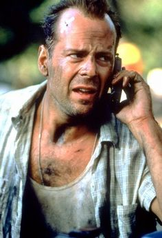 Bruce Willis in Die Hard: With a vengeance