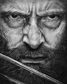 Hugh Jackman is ready to hang up his 'Wolverine' claws and shared that he is done playing the famous character from the X-Men franchise. While reminiscing fond memories of playing the superhero, Jackman expressed his … Hugh Jackman, Wolverine Claws, Logan Wolverine, Logan 2017, Logan Movies, Caran D'ache, Hung Up, Movie Poster Art, Amazing Drawings