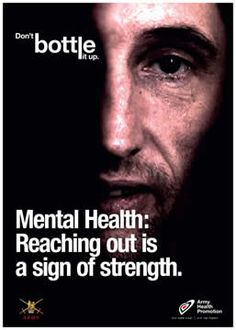 Mental health information at www.healthyplace.com/ Mental health support..just remember. Sometimes the illness is so acute, that reaching out by those with the illness may not happen. Be their advocate. Find help. http://www.healthyplace.com/forum/
