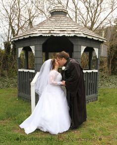 Star Wars Wedding. Anakin Skywalker Costume. Star Wars Theme. Bride and Groom. Gazebo. South Jersey Photographer. Blackwood Photographer. Gloucester Township Photographer. Wedding Photos. Wedding Photographer.