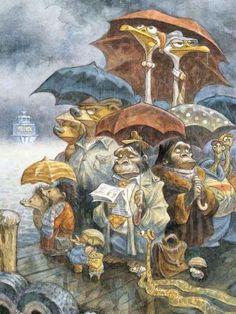 Забавні ілюстрації Пітера Де Сівши (Peter De Seve)