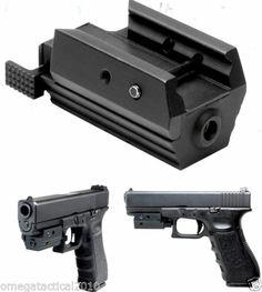 Omega Mfg Red Pistol Laser Sight for Glock 17 19 20 21 23 35 41 37 | eBay